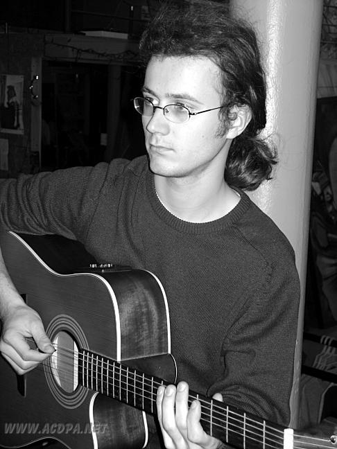 François, lors de la tournée à Boston (USA), en octobre 2007