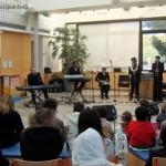 Photos de la prestation 2011 à l'Hôpital d'Enfants Robert Debré (Paris)