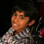 Abimaniou, le plus jeune du groupe... mais pas le moins talentueux !
