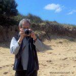 Michel, notre photographe... et preneur de son