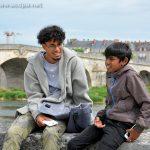 Alexandre et Abimaniou à Blois, jour de relâche (4 août )