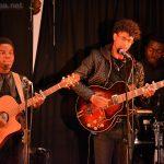 Grace (guitare), Alexandre (guitare) et Yves (batterie) dans «Gafsa»
