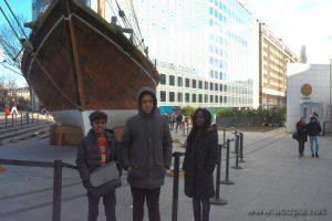 Institut du Monde Arabe : Abimaniou, Isaïa et Loojha