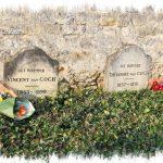Les tombes des 2 frères Van Gogh