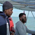 Sortie en catamaran : Grace... à la barre