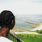Kimberley, au sommet du phare de Chassiron