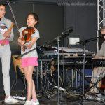 Répétition pour le spectacle : Lina, Léa et Jean-Luc
