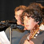 (Pascal), Léo à la guitare