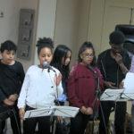 (Jean-Luc) Ryan, Laetitia, Ines, Eva, Mickael et Youssouf chantent : «On ne dit jamais assez»