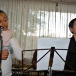 Laetitia et Antoine ont terminé le spectacle avec «Les Pierrots de Noël»
