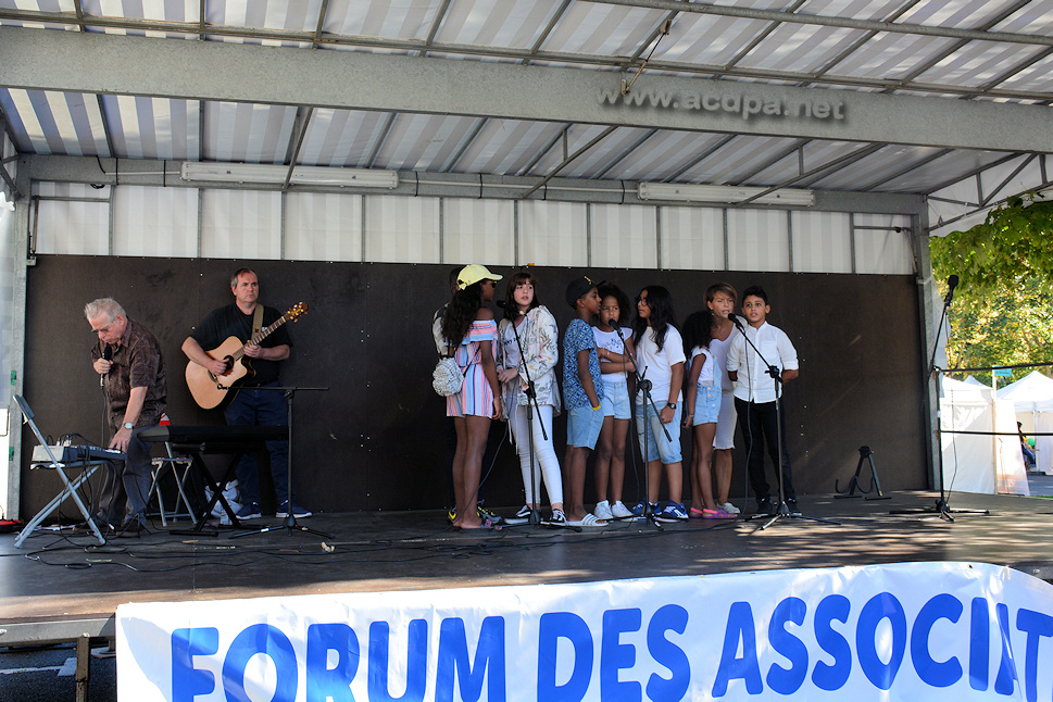 "Le Spectacle ""Teenager"", lors du Forum des Associations"