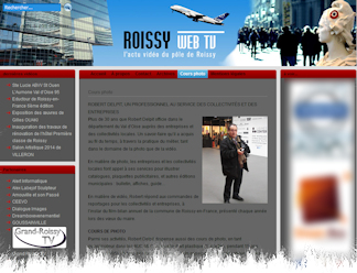 Roissy Web Tv / Robert Delpit