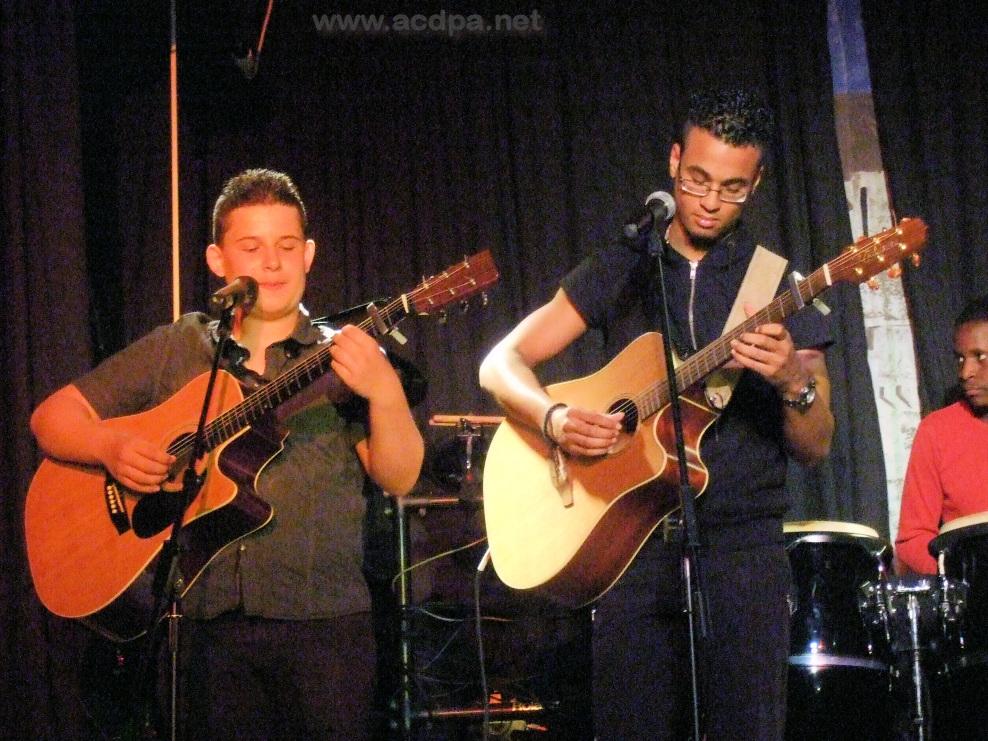 Stage de Pâques à Obernai, du 25 avril au 2 mai 2015 : Arthur et Alexandre, duo de guitares